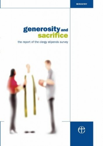 Generosity and Sacrifice Report By Church House Publishing