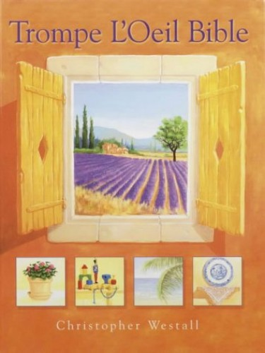Trompe l'Oeil Bible By Christopher Westall