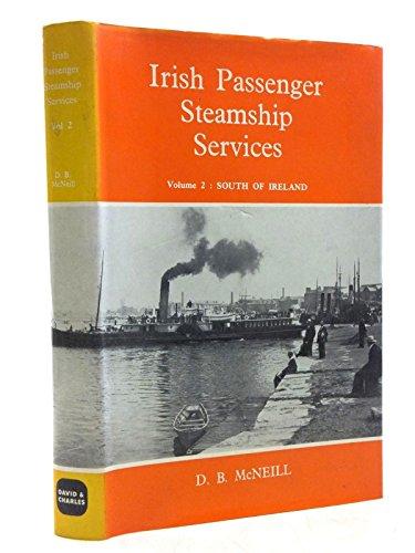 Irish Passenger Steam Ship Services By D.B. McNeill