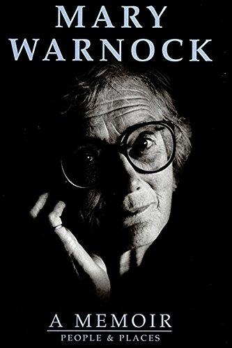 Mary Warnock By Mary Warnock