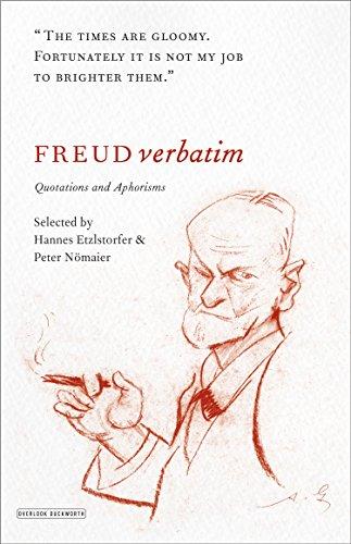 Freud Verbatim By Hannes Etzlosorfer