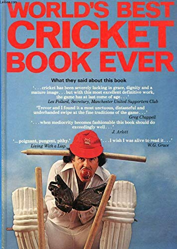 World's Best Cricket Book Ever By Peter Sherwood