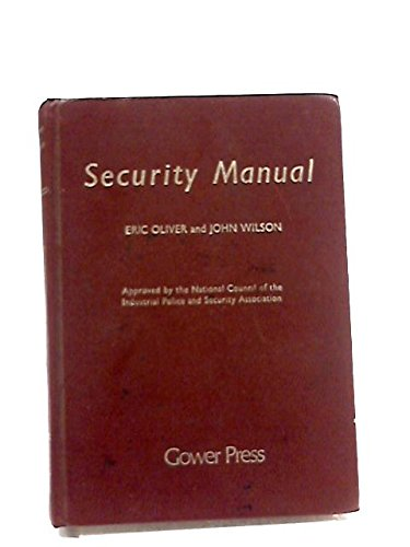 Security Manual By Eric Oliver