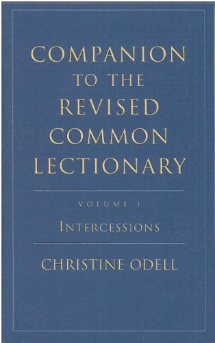 Companion to the Revised Common Lectionary By Christine Odell