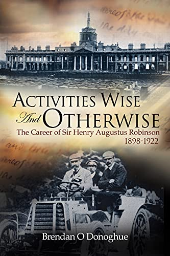 Activities Wise and Otherwise By Brendan O'Donoghue