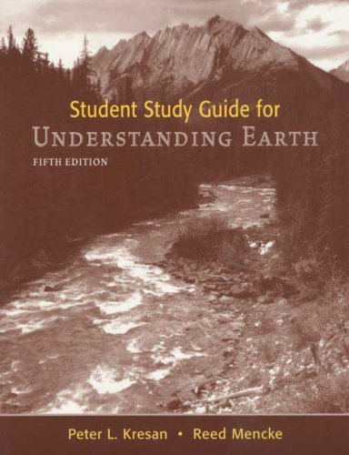 Understanding Earth By John Grotzinger