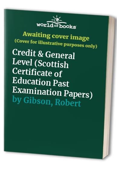 Standard Grade Craft and Design By Robert Gibson