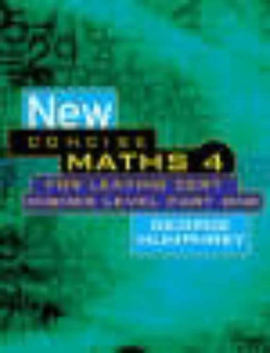 New Concise Maths 4 By George Humphrey