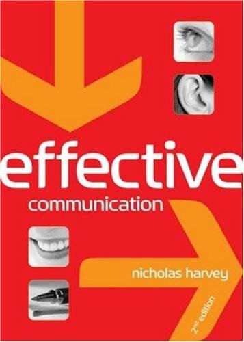 Effective Communication 2nd ed by Nicholas Harvey