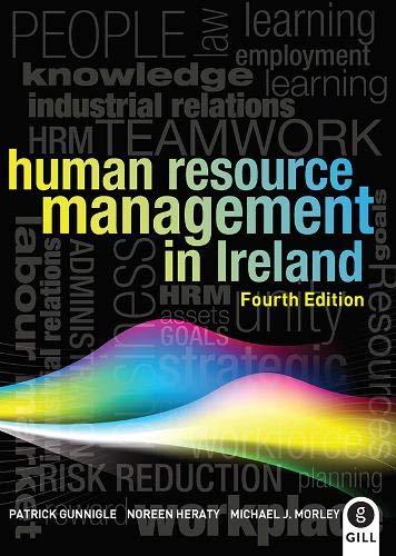 Human Resource Management in Ireland By Patrick Gunnigle