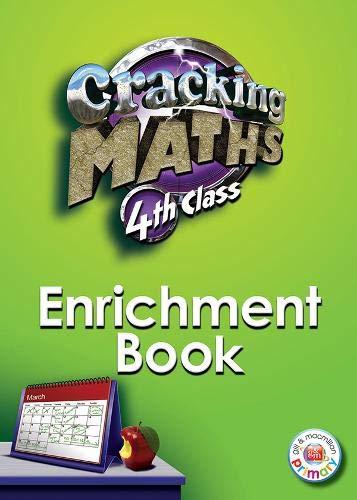 Cracking Maths 4th Class Enrichment Book By Sinead Kavanagh