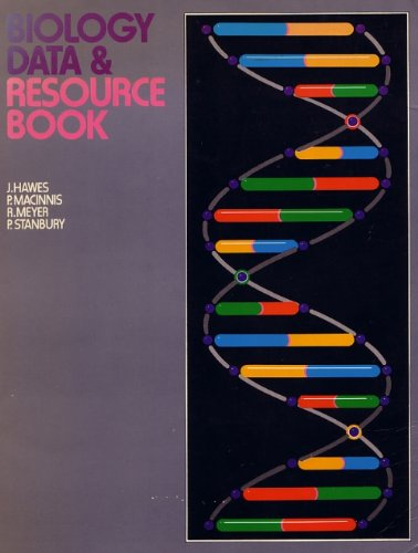 Biology Data and Resource Book By J. Hawes