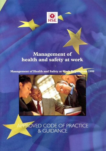 Management of Health and Safety at Work By Health and Safety Executive (HSE)