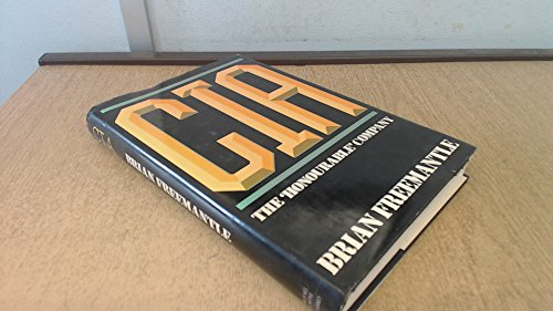 Central Intelligence Agency By Brian Freemantle