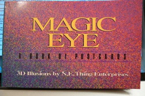 Magic Eye Book of Postcards By N.E.Thing Enterprises