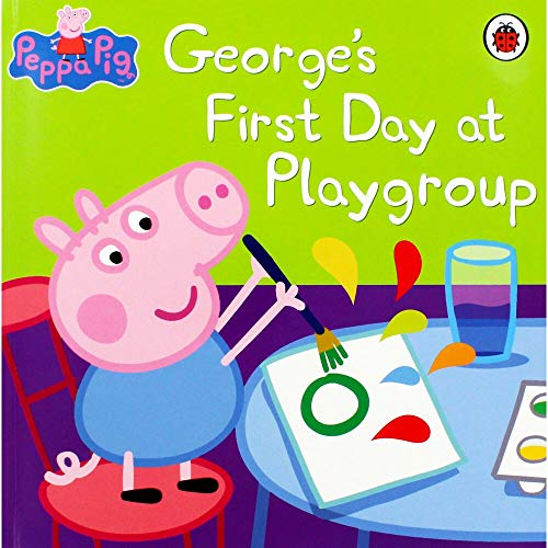 Peppa Pig: George's First Day at Playgroup By Mark Baker