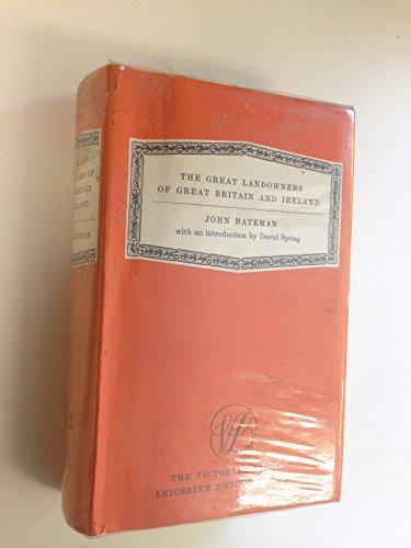 Great Landowners of Great Britain and Ireland By John Bateman