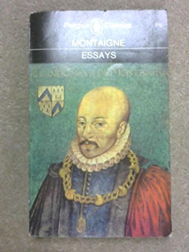 essay of lord michel eyquem de montaigne