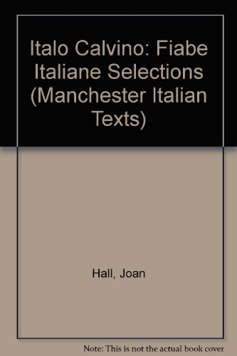Italian Folk Tales By Volume editor Joan Hall