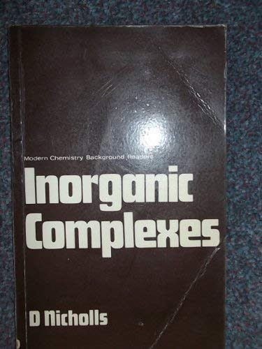 Inorganic Complexes By David Nicholls