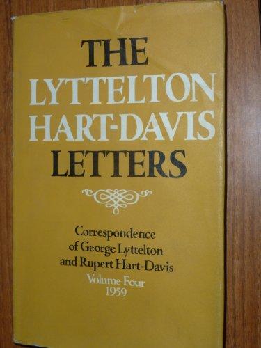Lyttelton Hart-Davis Letters By George Lyttelton