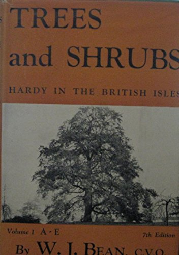 Trees and Shrubs Hardy in the British Isles  Supplement By D.L. Clarke