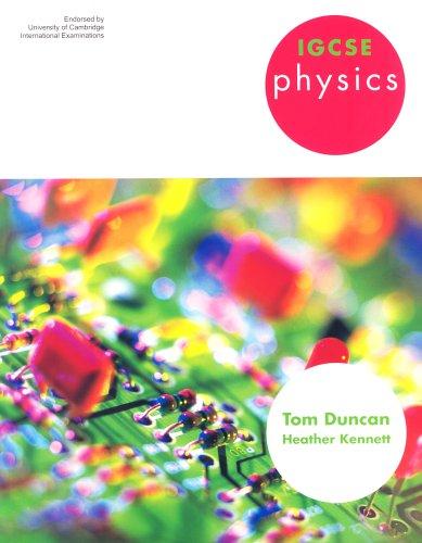 IGCSE Physics By Tom Duncan