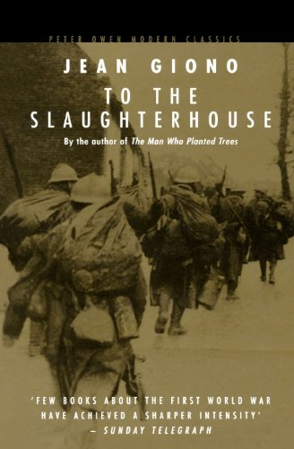 To the Slaughterhouse By Jean Giono