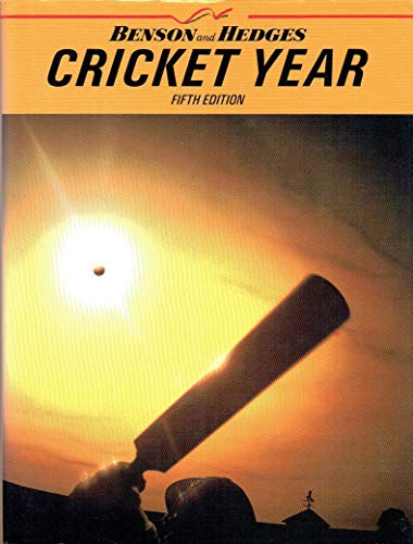 Benson and Hedges Cricket Year By Volume editor David Lemmon