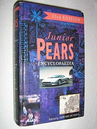 Junior Pears Encyclopaedia By Edward Blishen