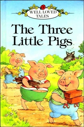 The Three Little Pigs Ladybird Wellloved Tales Paperback Book