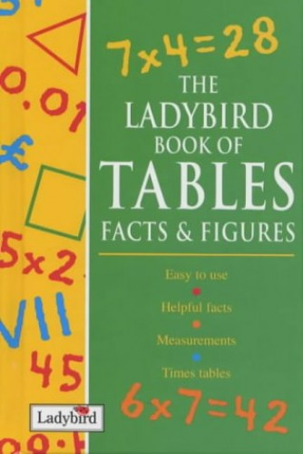 The Ladybird Book of Tables Facts & Figures (Ladybird Reference) By Jacqueline Dineen