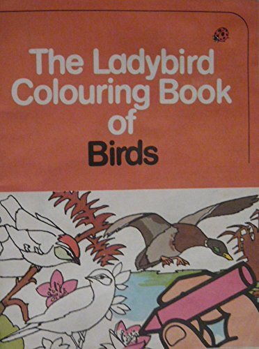 Ladybird Colouring Book of Birds By John Leigh-Pemberton