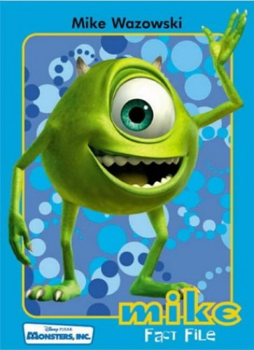 Monsters, Inc. Fact File By Walt Disney Productions
