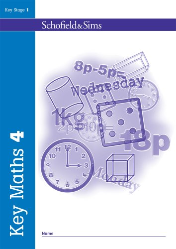 Key Maths Book 4 (of 5): Key Stage 1, Years 1 & 2 by Andrew Parker