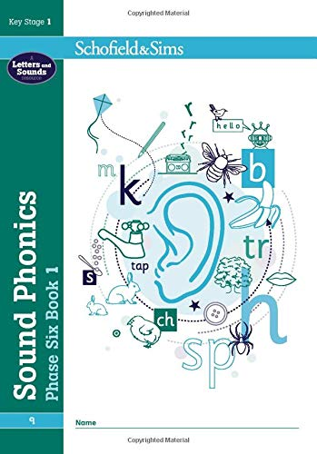 Sound Phonics Phase Six Book 1: KS1, Ages 5-7 By Schofield & Sims
