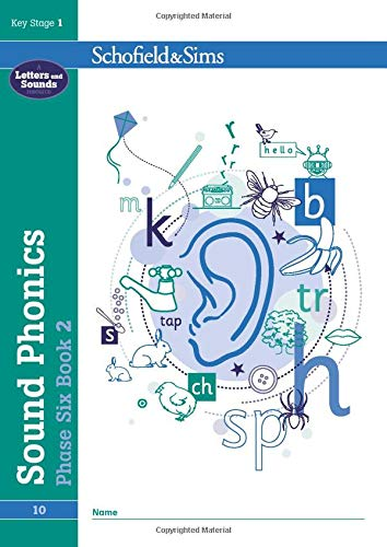 Sound Phonics Phase Six Book 2: KS1, Ages 5-7 By Schofield & Sims