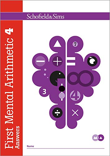 First Mental Arithmetic Answer Book 4 By Ann Montague-Smith
