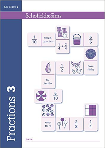 Fractions, Decimals and Percentages Book 3 (Year 3, Ages 7-8) von Hilary Schofield & Sims