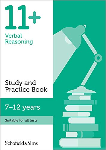 11+ Verbal Reasoning Study and Practice Book By Schofield & Sims