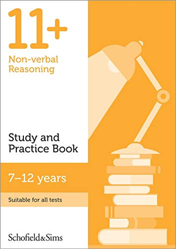 11+ Non-verbal Reasoning Study and Practice Book By Schofield & Sims