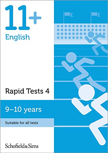11+ English Rapid Tests Book 4: Year 5, Ages 9-10 By Schofield & Sims