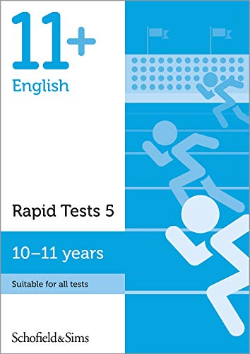 11+ English Rapid Tests Book 5: Year 6, Ages 10-11 By Schofield & Sims
