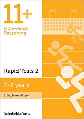 11+ Non-verbal Reasoning Rapid Tests Book 2: Year 3, Ages 7-8 By Schofield & Sims