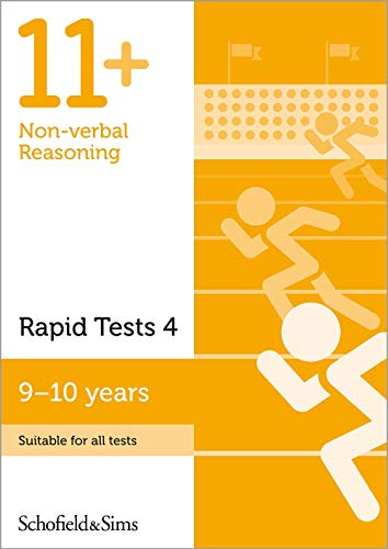 11+ Non-verbal Reasoning Rapid Tests Book 4: Year 5, Ages 9-10 By Schofield & Sims