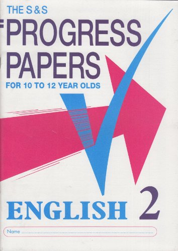 S and S Progress Papers By Patrick Berry