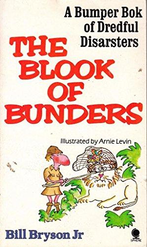 Blook of Bunders By Edited by Bill Bryson