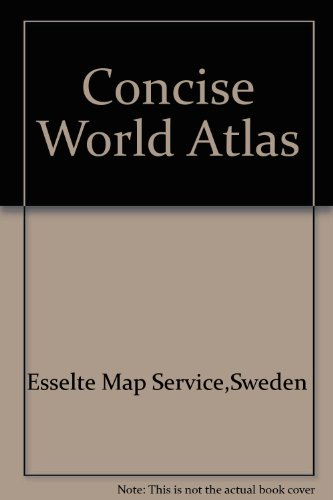 Concise World Atlas by Esselte Map Service,Sweden