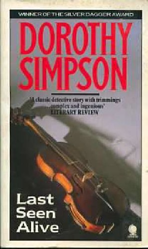 Last Seen Alive By Dorothy Simpson