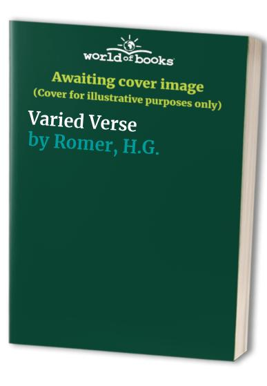 Varied Verse By H.G. Romer